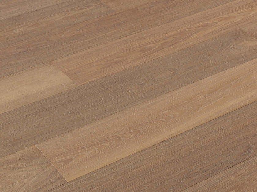 Brushed oak parquet NOCCIOLIEVE by FIEMME 3000