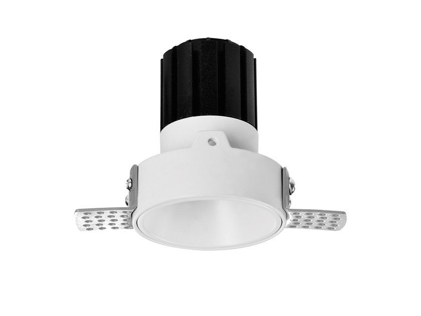 LED round recessed metal spotlight NOCE 5 by NEXO LUCE