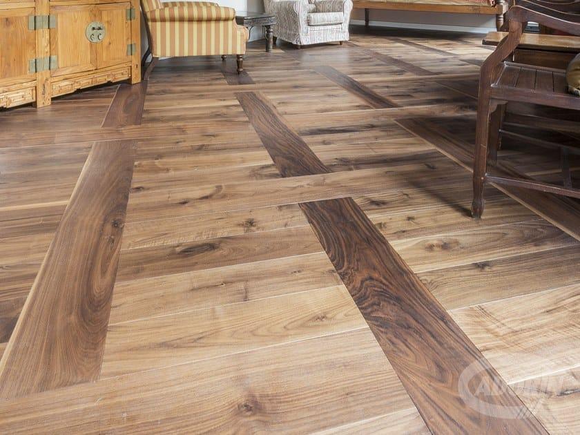 "Prefinished wooden parquet NOCE AMERICANO ""NATUR""   Wooden parquet by CADORIN GROUP"