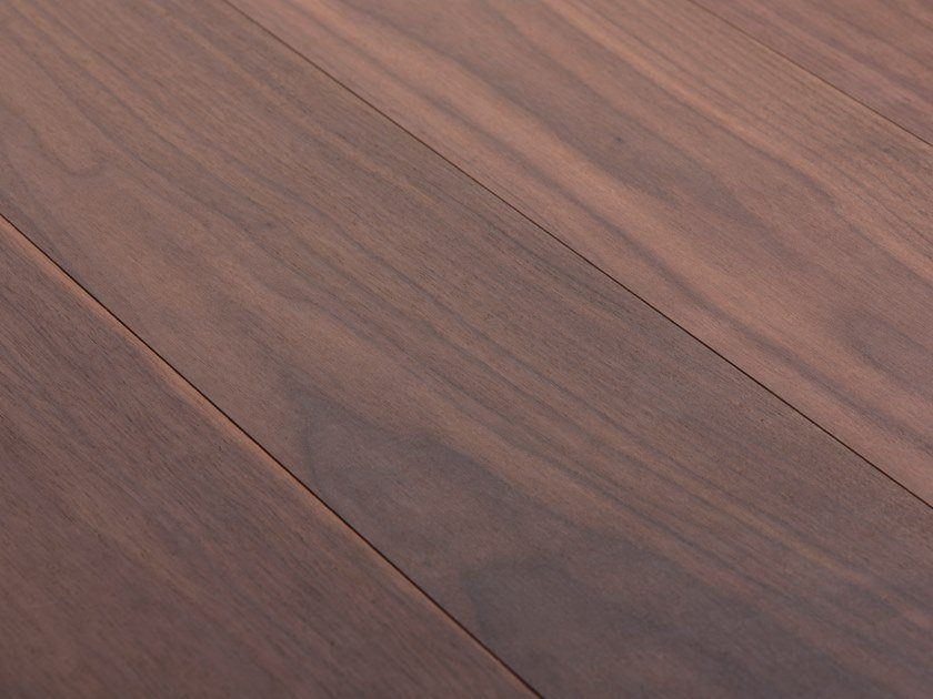 Wooden wall/floor tiles WALNUT USA - SANDED / WHITE OIL by mafi