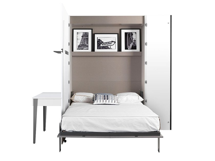 Nocturne Storage Wall With Fold Away Bed By Gautier France