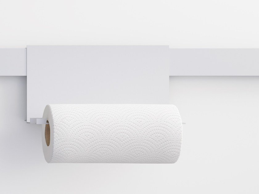 Aluminium paper towel holder NODO | Paper towel holder by Letroh