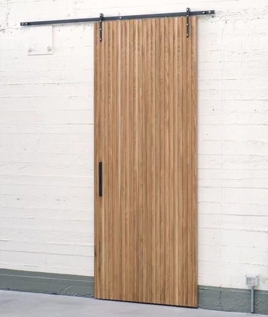 Wooden sliding door NODOO | Sliding door by NODOO