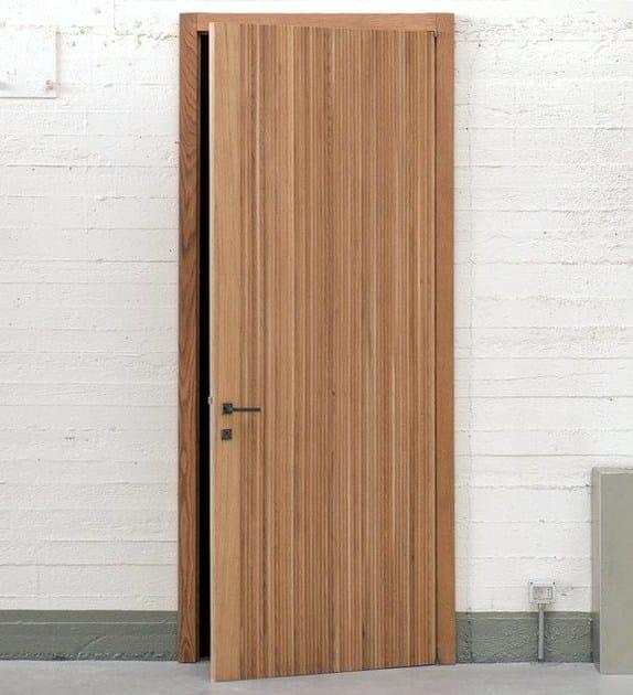 Hinged wooden door NODOO | Hinged door by NODOO