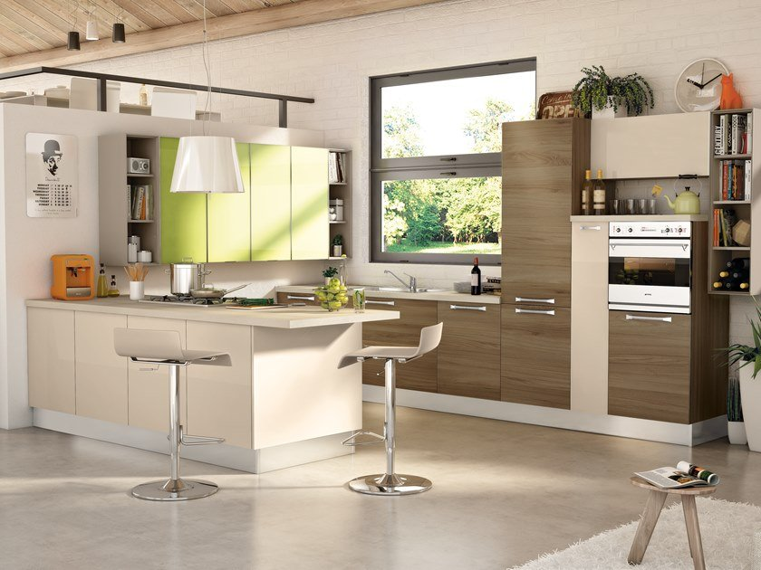 NOEMI 4 By Cucine Lube design Studio Ferriani