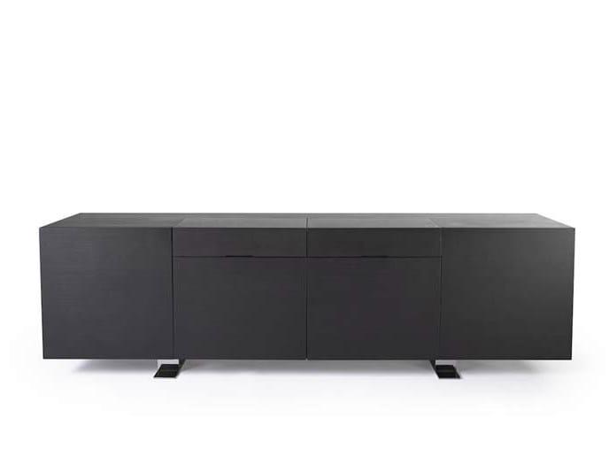 Ash sideboard NOIR   Sideboard by Potocco
