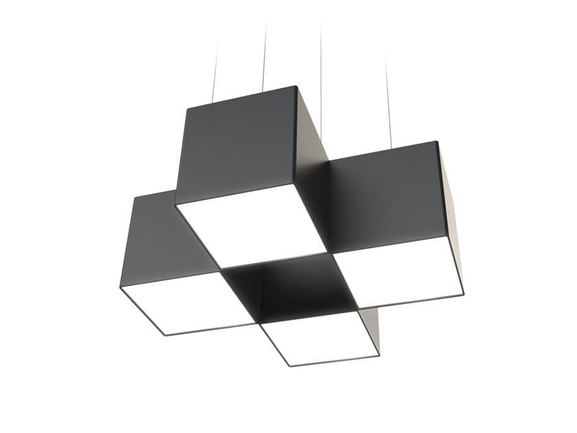 LED pendant lamp NOISE CLOVER by LUG Light Factory