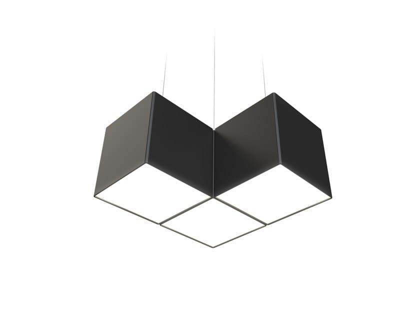 LED pendant lamp NOISE CORNER by LUG Light Factory