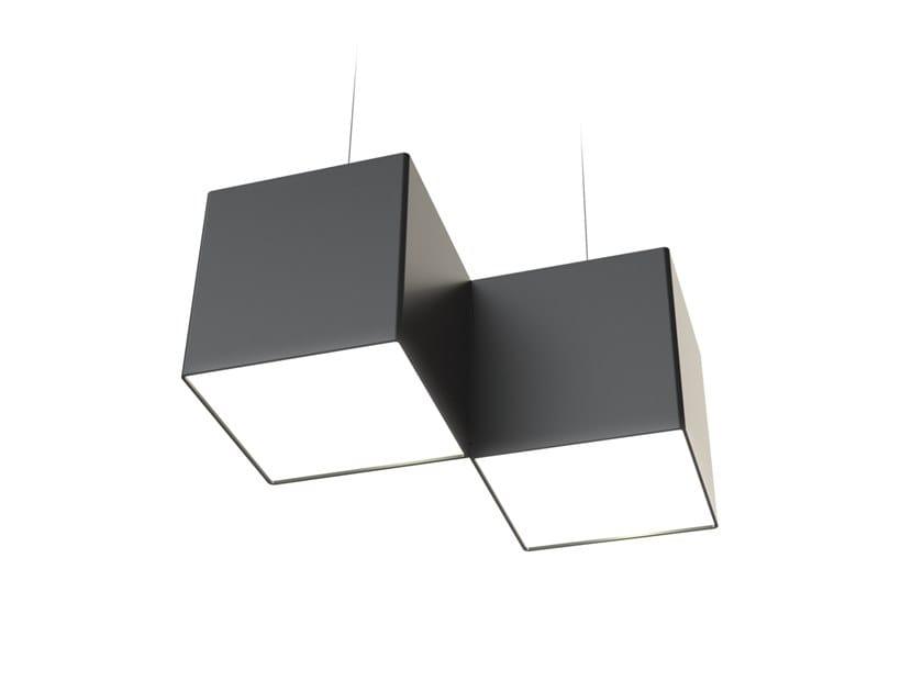 LED pendant lamp NOISE DIAGON by LUG Light Factory