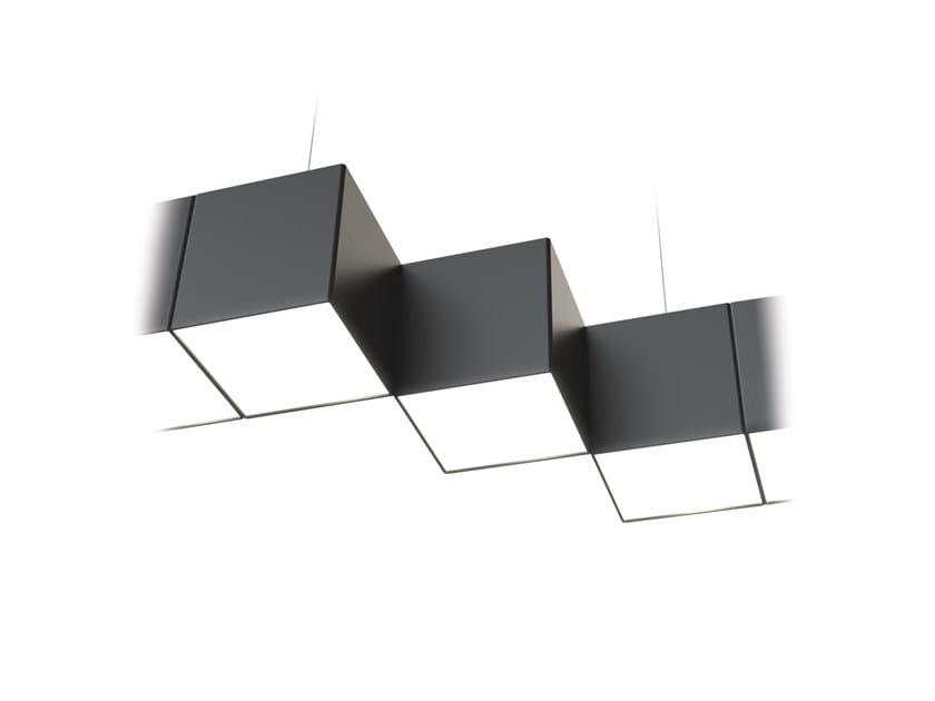LED pendant lamp NOISE STEPS CONNECT by LUG Light Factory