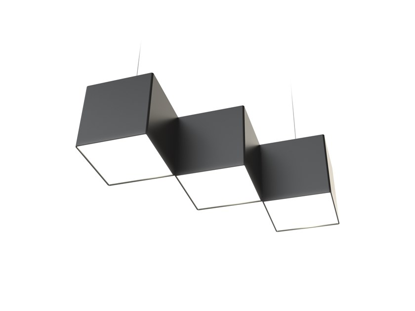 LED pendant lamp NOISE STEPS by LUG Light Factory