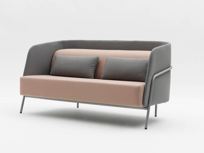2 seater fabric sofa NOLDOR I833 by Segis