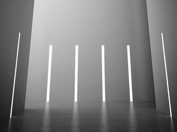 Wall-mounted Linear lighting profile for LED modules NOLITA TRIM by PANZERI
