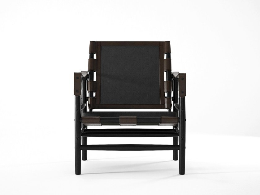 Wooden armchair with armrests NOMAD   Armchair by KARPENTER