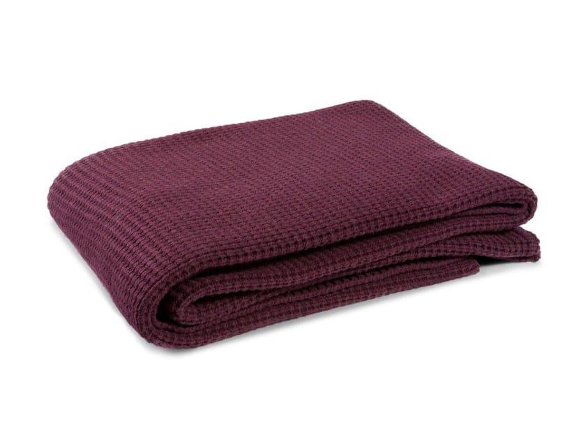 Solid-color wool blanket NODOAMAGLIA by Atipico