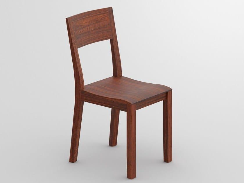 Sedia in legno massello NOMI By Vitamin Design design GG designart