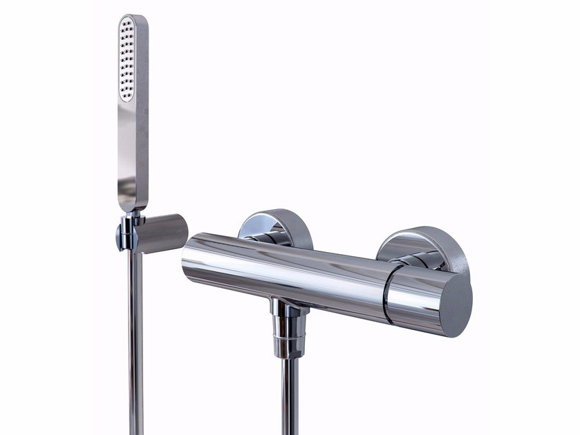 Chrome-plated single handle shower tap NOMOS GO F4165 | Shower tap by FIMA Carlo Frattini