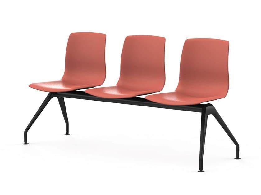 Seduta su barra a pavimento NOOM 50 | Seduta su barra by ACTIU