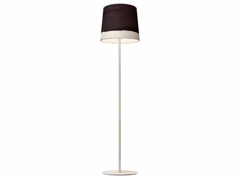 Handmade fabric floor lamp NOON | Floor lamp by Mammalampa