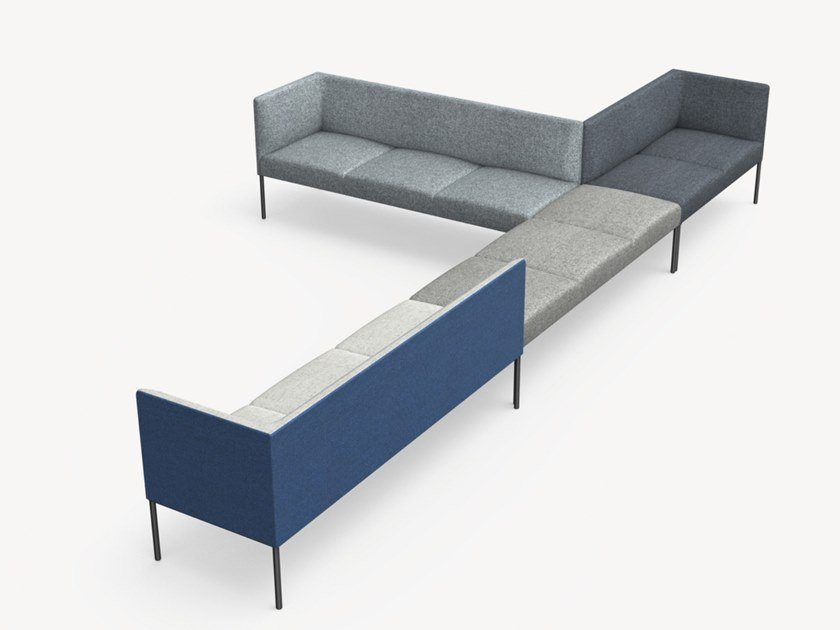 Sectional modular sofa NOORA   Sofa by Martela