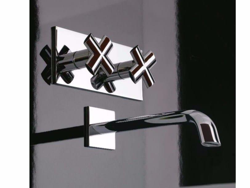 Wall-mounted washbasin tap NOOX | Wall-mounted washbasin tap by ZAZZERI