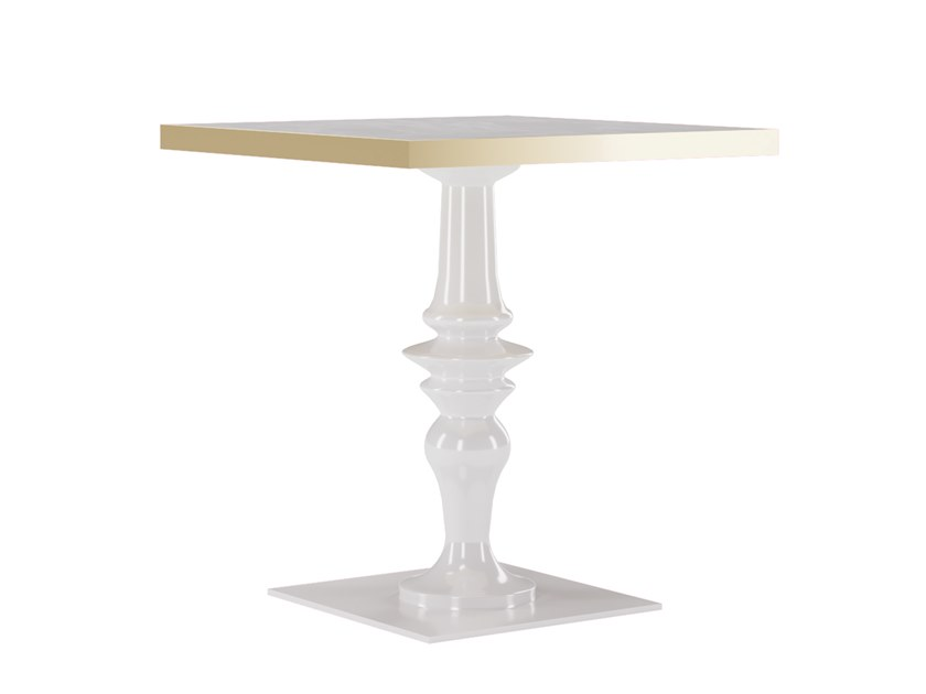 Lacquered square table NORA | Square table by Jetclass
