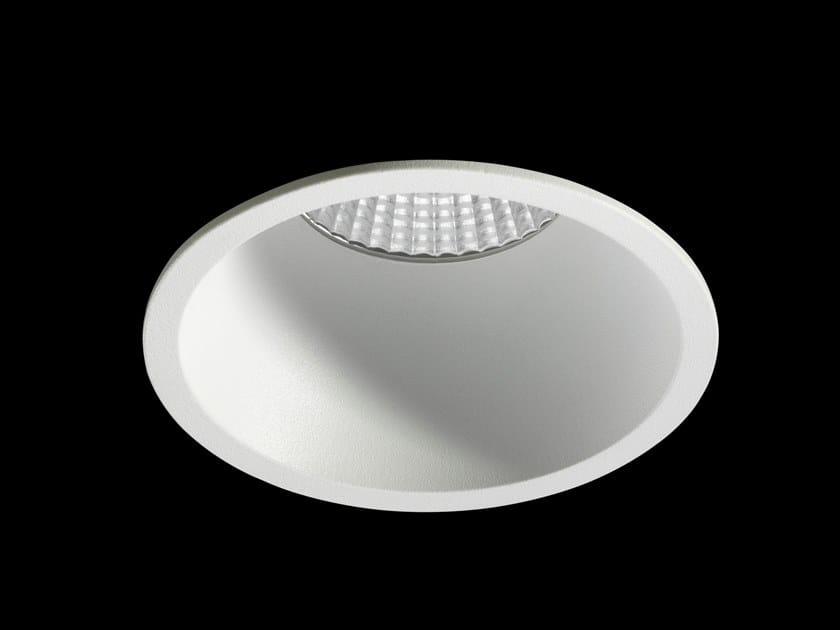 Faretto a LED rotondo in alluminio verniciato a polvere da incasso NORA by LUNOO