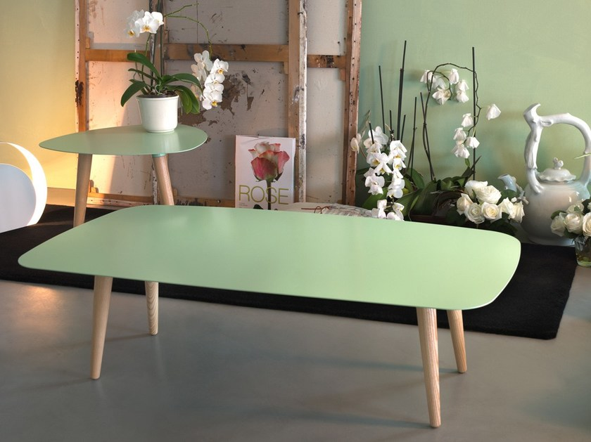 Rectangular coffee table NORD RETTANGOLARE by meme design