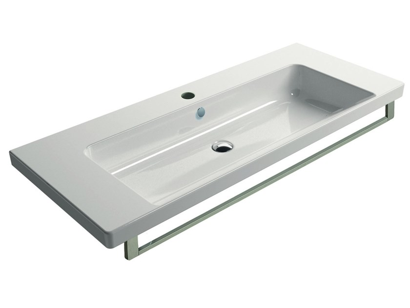 NORM 120 | Washbasin with overflow
