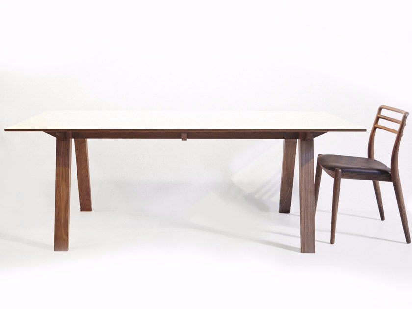 Wooden dining table NORTON by Dare Studio