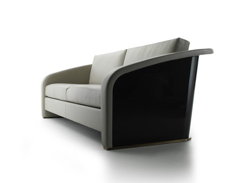 Leather sofa NORWAY | Sofa by HUGUES CHEVALIER