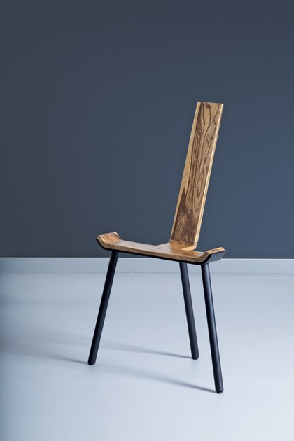 Solid wood chair NOSS by Kann Design