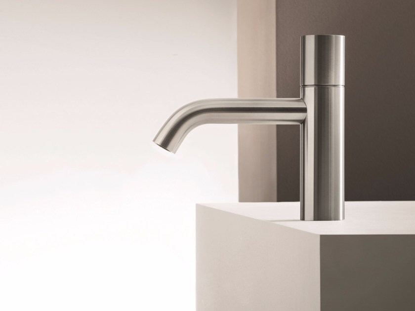 Single handle washbasin mixer without waste NOSTROMO - 2603WF by Fantini Rubinetti