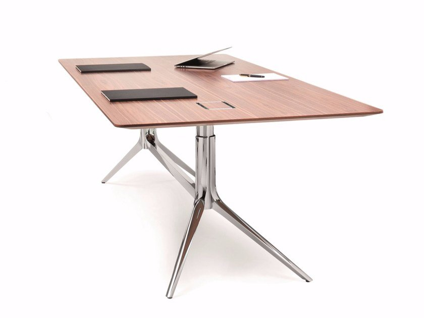 Rectangular office desk NOTABLE DESK | Rectangular office desk by ICF