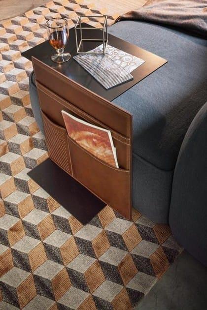 Note Portariviste Servizio Metallo Lema In Verniciato Tavolino Con Di vnN8wm0