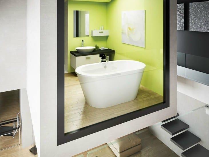 Freestanding oval bathtub NOUVEAU PETITE by Polo