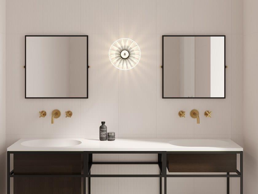 Espelho basculante quadrado moldurado NOUVEAU | Espelho quadrado by Ex.t