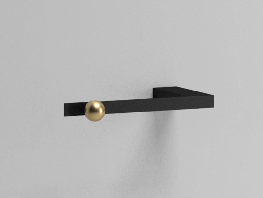 Metal toilet roll holder NOUVEAU | Toilet roll holder by Ex.t