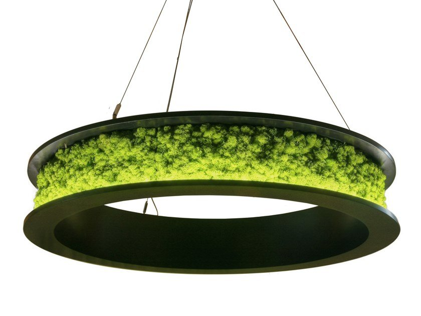 Ring light with moss NOVA by Freund GmbH