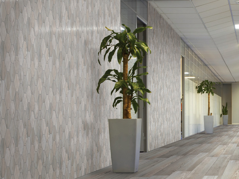 Glazed stoneware wall tiles with wood effect NOVA PLANCA | Wall tiles by Serenissima