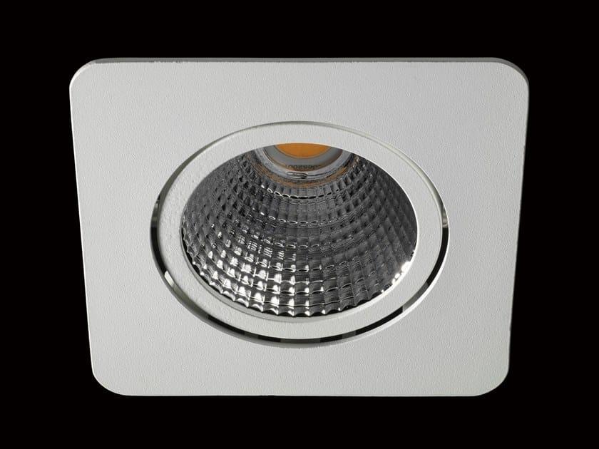 Faretto a LED orientabile in alluminio verniciato a polvere da incasso NOVA by LUNOO