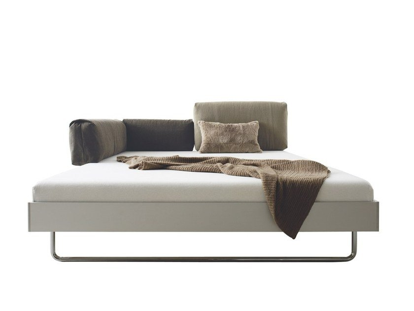 Convertible aluminium bed NOVA by more