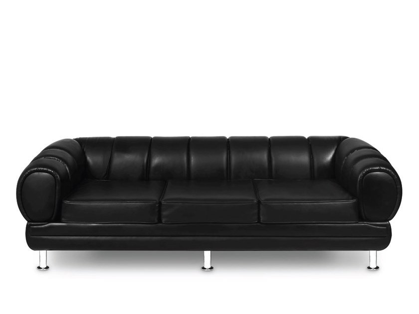 Leather sofa NOVAK | Sofa by Delightfull