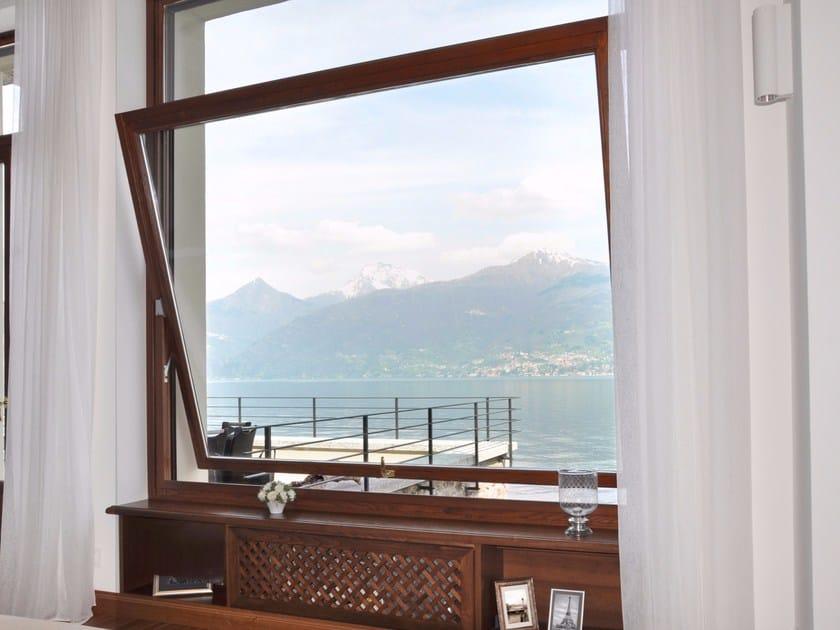 Wooden horizontally pivoted window NOVECENTO   Horizontally pivoted window by NAVELLO