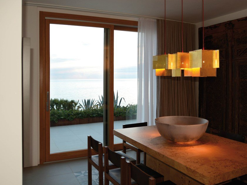 Wooden lift and slide window NOVECENTO | Lift and slide window by NAVELLO
