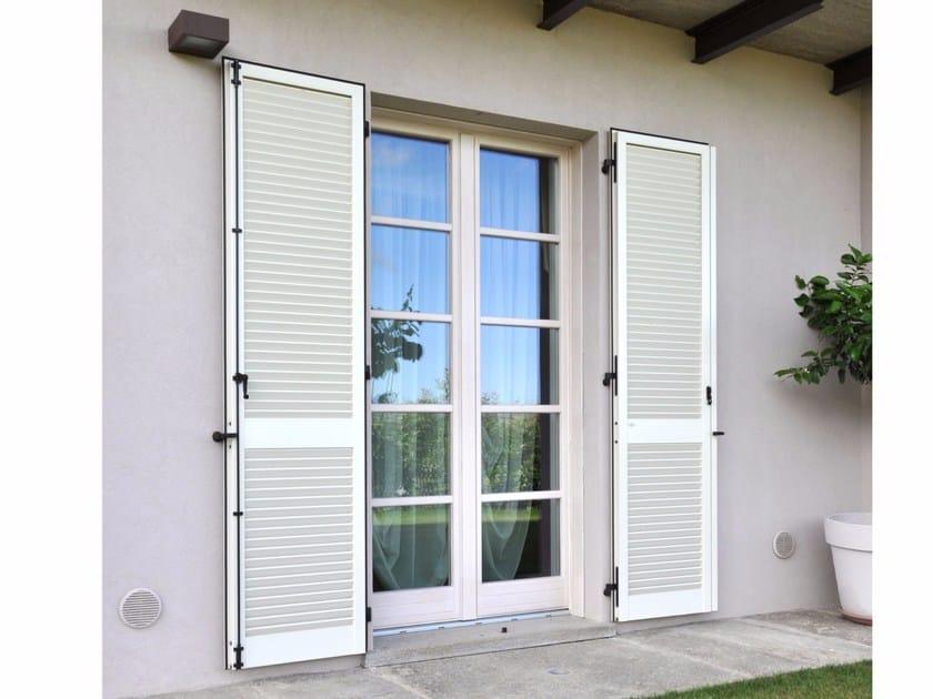 Porta finestra a battente in legno novecento porta finestra a battente navello - Finestre stile americano ...