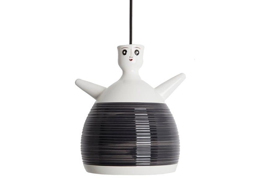 Handmade ceramic pendant lamp NOVELLA | Pendant lamp by ENGI