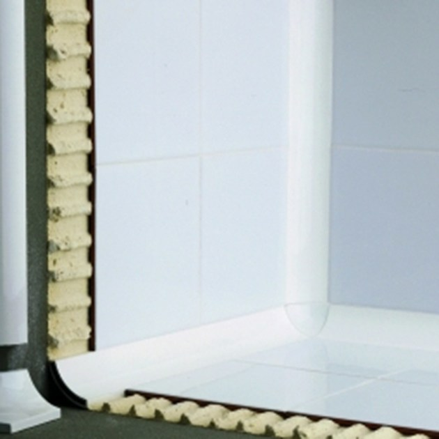Antibacterial edge profile for floors for walls NOVOESCOCIA® 2 ALUMINUM | Antibacterial edge profile by EMAC Italia