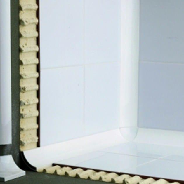 Bordo antibatterico per pavimenti per rivestimenti NOVOESCOCIA® 2 ALUMINUM | Bordo antibatterico by EMAC Italia