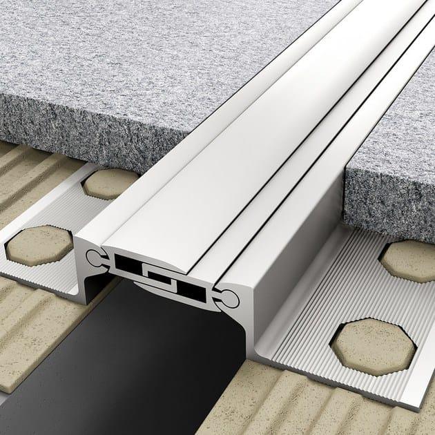Aluminium Flooring joint NOVOJUNTA PRO® AL30 RS | Aluminium Flooring joint by EMAC Italia